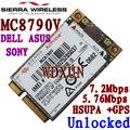 Desbloqueado Sierra Wireless MC8790V incrustado inalámbrica 3G Wwan módulos 7.2 Mbps