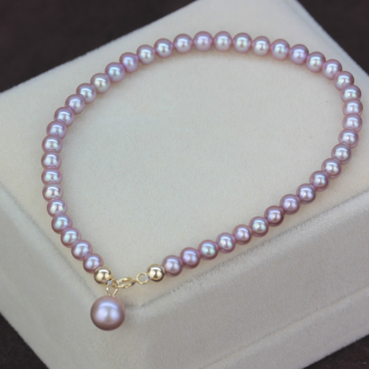 Eternal wedding 925 Sterling silver real Rare small purple pearl natural freshwater pearls necklace earring round small 3-4mmEternal wedding 925 Sterling silver real Rare small purple pearl natural freshwater pearls necklace earring round small 3-4mm