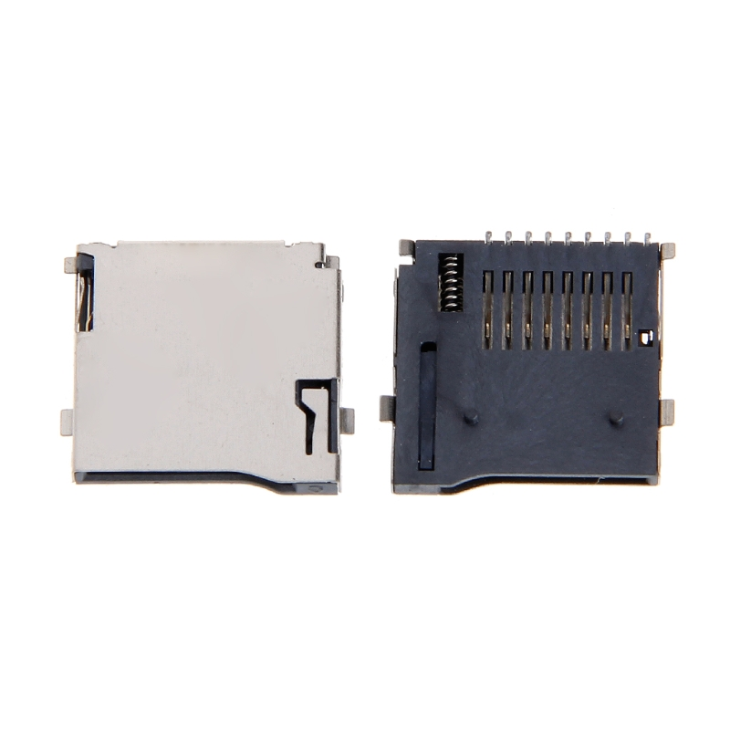 10PCS Push-Push Type TF Micro SD Card Socket Adapter Automatic PCB Connector10PCS Push-Push Type TF Micro SD Card Socket Adapter Automatic PCB Connector