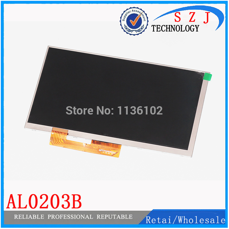 New 7'' inch LCD Display Matrix TABLET AL0203B 01 FY07021DH26A29-1-FPC1-A LCD Screen Panel Lens Frame replacement Free Shipping 625 a lcd display matrix tv101wub nv0 pcb x0 0 lcd screen panel replacement
