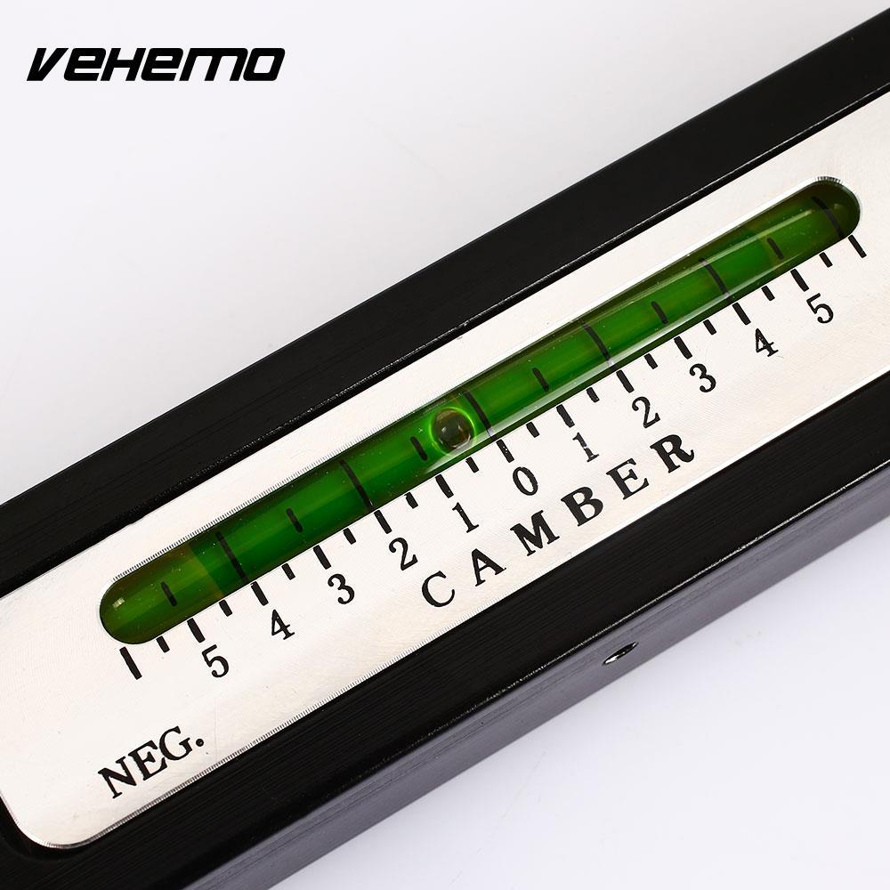 Vehemo Camber Castor Magnetic Gauge Tool Measure Gauge Tool Professional Alignment Gauge Tool Car Wheel Positioner