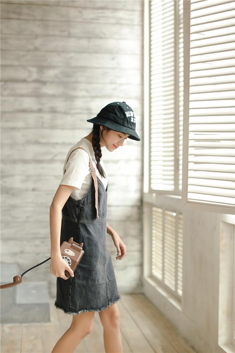 6348b665ef Summer Dress 2018 Korean Style Vintage Ripped Tassel V Neck ...