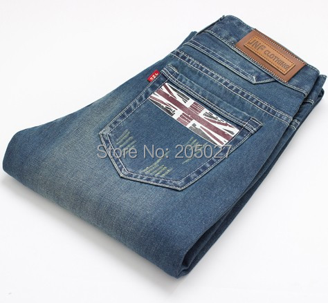 plus size jeans 28 to 38 men summer jeans thin men's denim trousers slim straight jeans with fashion flag design pants men new printing jeans men s slim feet pants korean flower pants nightclubs hairdressers thin style summer mens trousers size 28 38