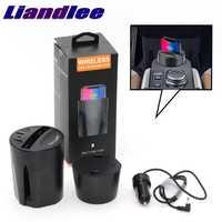 LiandLee Qi Auto Draadloze Telefoon Opladen Bekerhouder Stijl Snelle Oplader Voor SEAT Altea Alhambra Ateca Cordoba Exeo