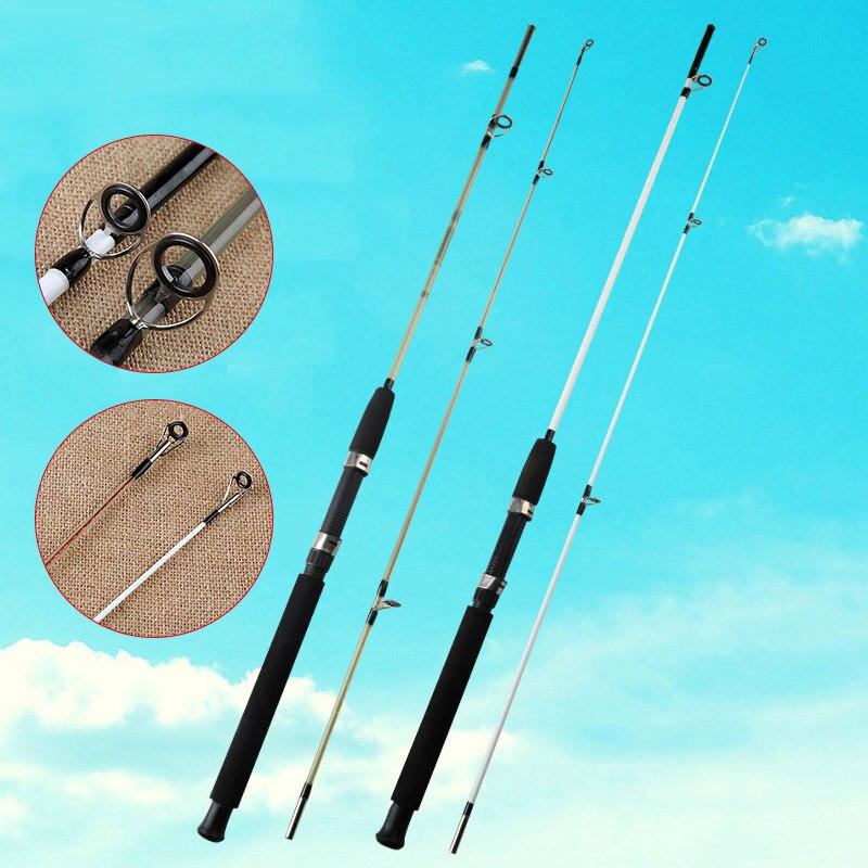 2018 Newly FRP Fishing Rod Super Hard Powerful Travel Fishing Tackle Saltwater Pole Rod