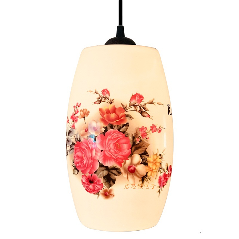 Image 4 - New Chinese Pendant lamp for Kitchen Dining Room Living Room Suspension luminaire Hanging Ceramic Bedroom Chandeliers Fixtures-in Pendant Lights from Lights & Lighting