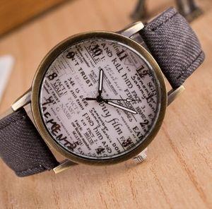 Reloj mujer новые модные кварцевые часы для мужчин и женщин, Спортивные Повседневные часы, наручные часы из джинсовой ткани и кожи, Hodinky Relogio Masculin