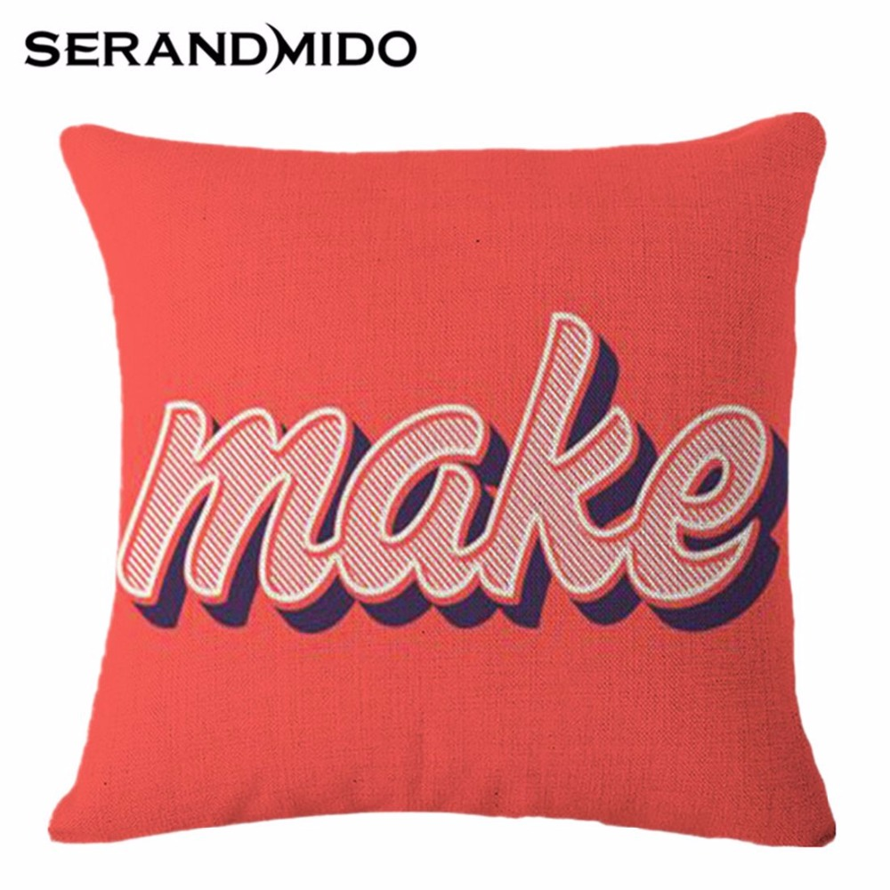 Comic Style Letter Boom Words Cushion Covers Pop Art Style