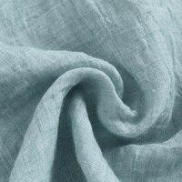 новое поступление летняя изделие из хлопка с короткими рукавами льняная рубашка для мужчин модный бренд для мужчин рубашки льна стенд воротник небесно-синяя рубашка для мужчин с сорочка