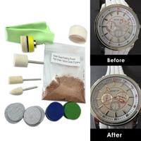 OSSIEAO Neue Uhr Glas Polieren Kit Glas Kratzer Entfernung Set Acryl Saphirglas