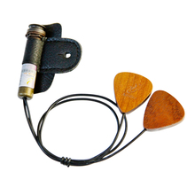 Adeline ad-88 clásica hecha a mano pickup/folk/guitarra flamenca pickkup ukulele/madolin titular de púa de guitarra de recogida