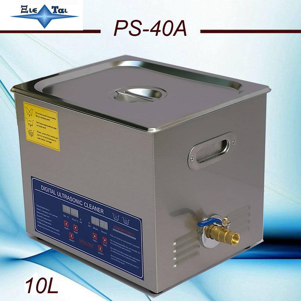Ultrasonic Cleaner Machine With Digital Timer And Heater For Watch And Glasses 2