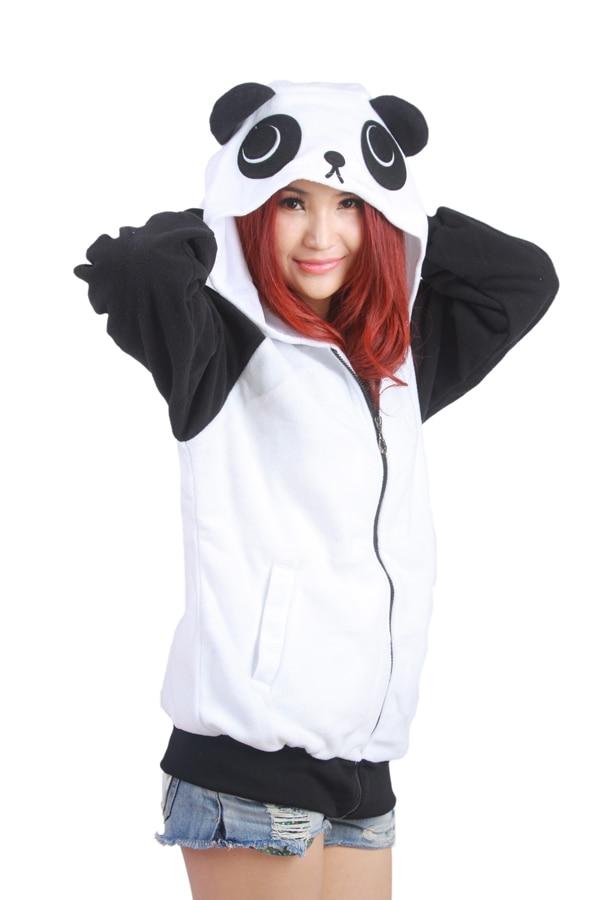 Wow!!! Bebas biaya kirim! Jepang Lucu Kostum Cina Panda Telinga Wajah - Pakaian Wanita - Foto 5