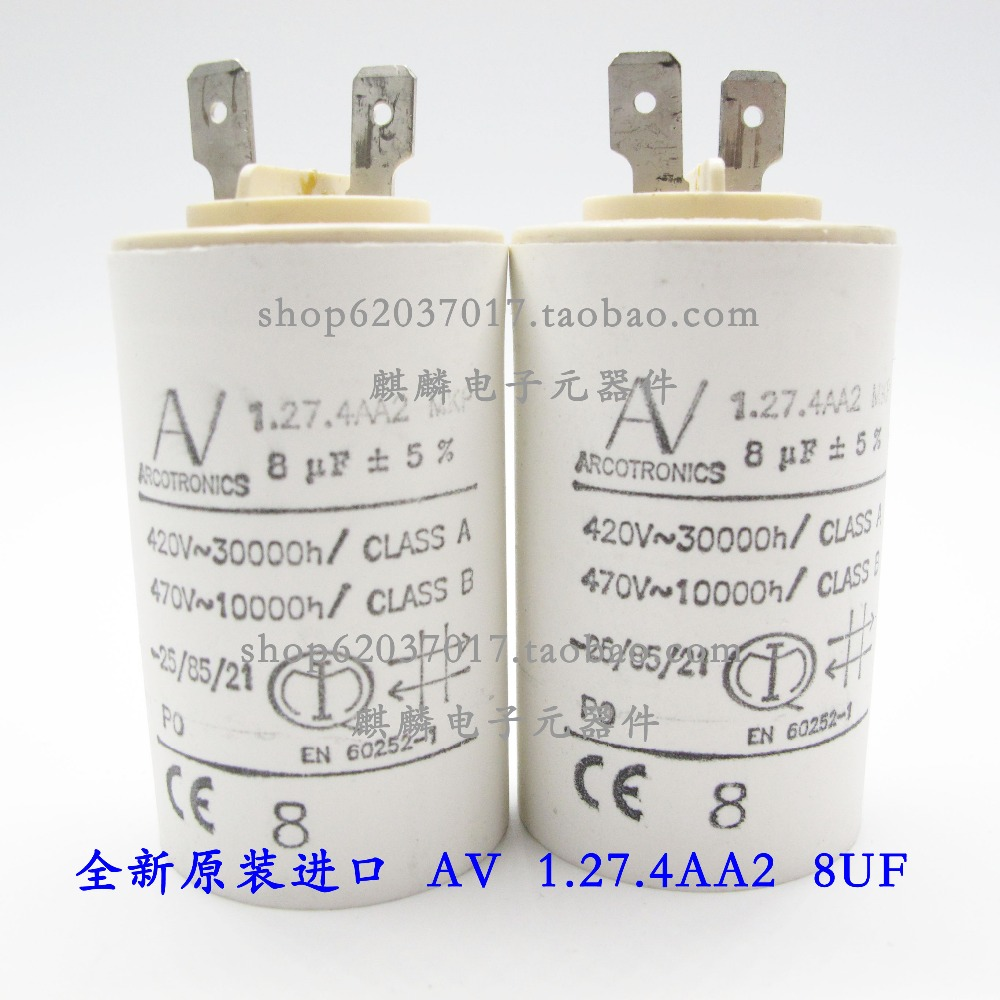 1PCS 100% Home Furnishings AV Arcotronics MKP 8UF 420V-470V 1.27.4AA2