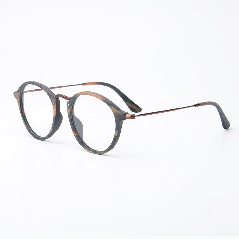 huge selection of later stable quality € 17.45 52% de réduction|Lunette ronde Vintage de vue lunettes  transparentes rétro hommes lunettes femmes cadre optique rond ordinateur  lunettes ...