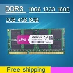 Sale Ram DDR3 4GB 8GB 2GB 1066 1333 1600 1066mhz 1333mhz 1600mhz DDR3L DDR3 4GB 8GB SODIMM Sdram Memory Memoria Laptop Notebook