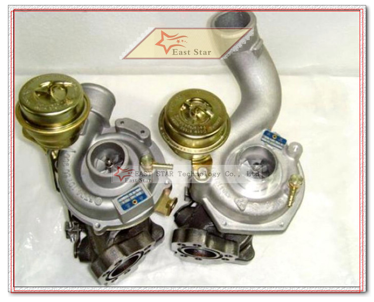 TURBO K03 53039880016 53039880017 Turbocharger for Audi S4 A6 A6 Allroad 1997-2001 AJK ARE BES AGB 2.7L