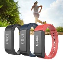 I5 плюс браслет фитнес-трекер oled экран smart touch часы сердечного ритма браслет группа сообщение звонок для xiaomi android ios