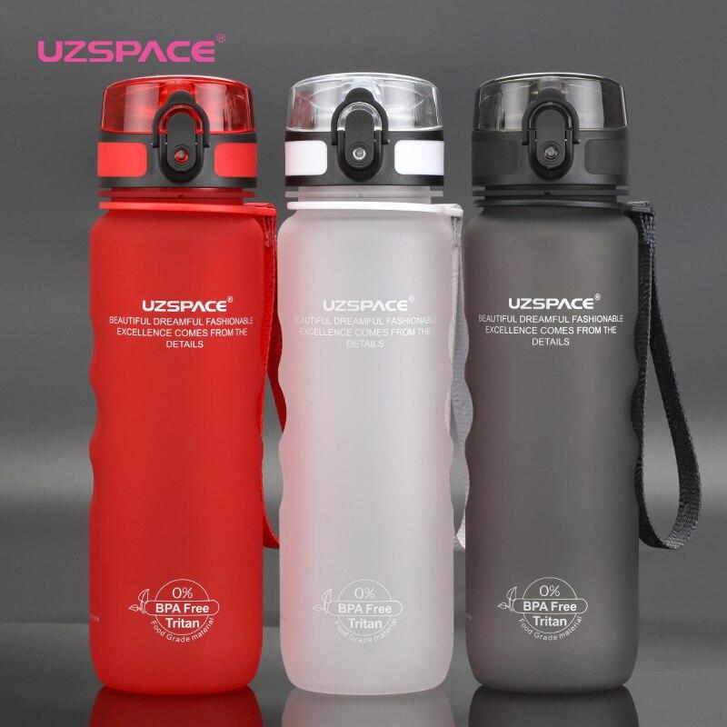 3 colores botellas de agua de deportes directo beber y paja 2 Estilo de mi botella de agua 500 ml portátil de plástico a prueba de fugas drinkware libre de BPA