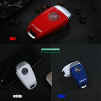 3 Color ABS Paint Key Case Key Protection Cover Key Decoration Box For Alfa Romeo Giulia