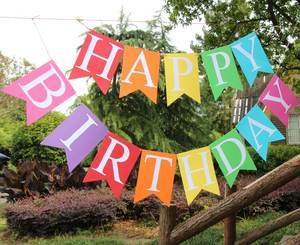 Happy Birthday Background Party Decorations