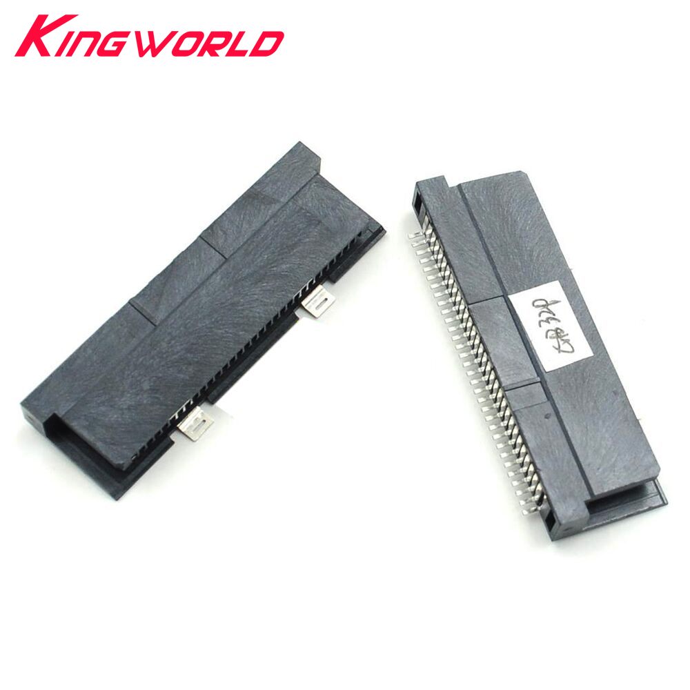 Xunbeifang 100pcs Replacement 32 Pin Card Slot Connector For G-ameBoy Coolor For G-B G-BC Console