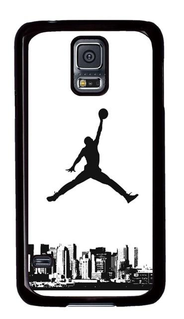 newest 91c2e f60de US $15.19 |Samsung Galaxy S5 Case, Michael Jordan Logo Jump Man PC Black  Case Fits Samsung Galaxy S5 on Aliexpress.com | Alibaba Group