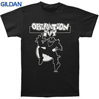 GILDAN Printed Summer Style Tees Male Harajuku Top Fitness Brand Clothing Operation Ivy Men S Ska