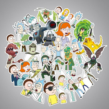 Rick and Morty Stickers 25 / 50 / 100Pcs