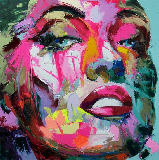 Peinture visage femme moderne peinture visage femme moderne with peinture visage femme moderne - Peinture sur visage ...