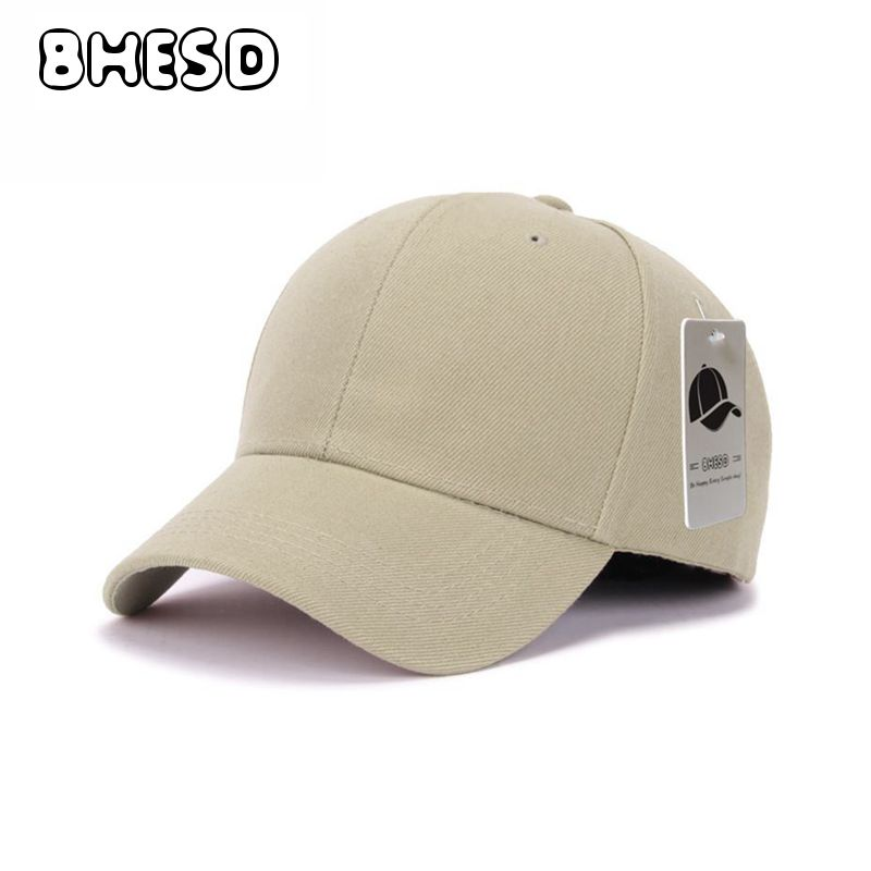 71c11623158c BHESD 2017 Plain Beige Cotton Dad Hat Women Adjustable Black Baseball Cap  For Men Adult Autumn Sport Baseball Hat Gorras JY-606