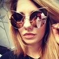 Мода Cat Eye Солнцезащитные Очки Женщины Luxury Brand Дизайнер Солнцезащитные Очки Дамы Для Женщин UV400 Оттенки Очки Lunettes Óculos YQ252