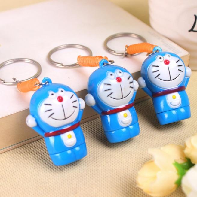 2Pcs/set Creative Kawaii Cartoon Telescopic Doraemon ballpoint pen creative for kids Office School Supplies