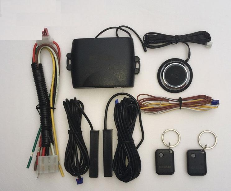 Le système d'alarme de voiture intelligente PKE est avec verrouillage automatique passif ou déverrouillage de la porte de voiture