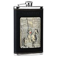 Wholesale 10 ounce 304 stainless steel hip flask,vintage flask,whisky bottle,canteen pocket,alcohol flask,groomsmen gifts