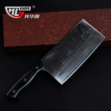 New Arrival Japanese Damascus VG10 Chopper knife Professional Chef Cleaver Poultry Butcher Knives For Cooking Bone