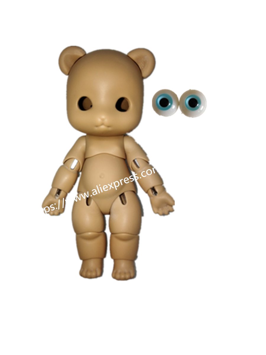 AQK(AQK) 1/8 BJD Doll- Chinese panda (free for a pair of eyes) aqk aqk 1 8 bjd doll chinese panda free for a pair of eyes
