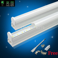 Free Shipping 10pcs High Quality Wholesale CE ROHS 600mm AC90 265vT8 Led Tube Light SMD 2835