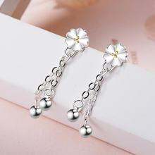 Корейский стиль Темперамент Мода 925 Стерлинговое Серебро покрытые