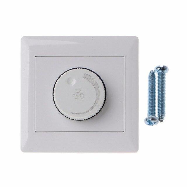 調整天井ファン速度制御スイッチ壁ボタン調光器スイッチ 220 V 10A