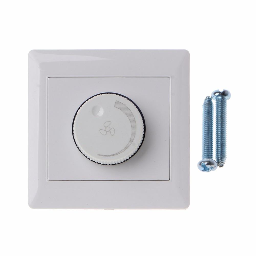 Ayar tavan vantilatörü Hız Kontrol Anahtarı Duvar Düğmesi Dimmer Anahtarı 220 V 10A