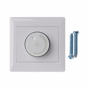 Image 1 - Adjustment Ceiling Fan Speed Control Switch Wall Button Dimmer Switch  220V 10A