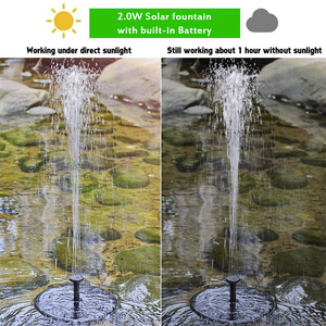 Image 4 - Solar Power Floating Water Pump Solar Panel Kit Gardening Plants Watering Power Fountain Pool Pond Watering System Accessories