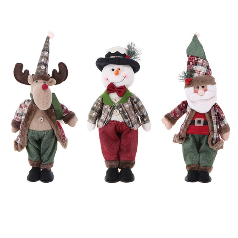 <font><b>Christmas</b></font> Tree Hanging Ornaments Santa Claus <font><b>Snowman</b></font> Elk <font><b>Doll</b></font> Xmas <font><b>Decoration</b></font> Hanging <font><b>Pendant</b></font> <font><b>Lovely</b></font> Party Decor Gift for Kids