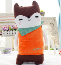 cute fox toy about 50cm creative cartoon fox plush toy , birthday gift  x146