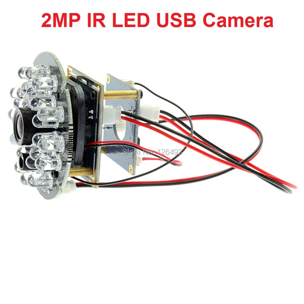 1080P CMOS OV2710 mini ir led night vision usb camera linux for android mobile phone tablet
