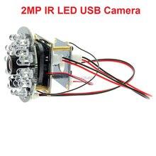 1080P CMOS OV2710 mini ir led للرؤية الليلية كاميرا بـ USB لينكس ل شاحن هاتف محمول يعمل بنظام تشغيل أندرويد ، قرص ، ماك