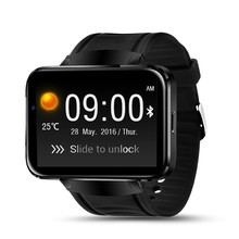 Качество DM98 Bluetooth Smart Watch 2.2 дюймов Android OS 3 Г Smartwatch Телефон RAM512MB + ROM4GB Поддержка Камеры GPS Сим-карты wi-fi