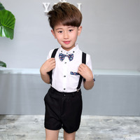 Children Kid Clothes Suits Formal Wedding Party Costume Gentleman Suit For Boys Children Clothing Costume H192