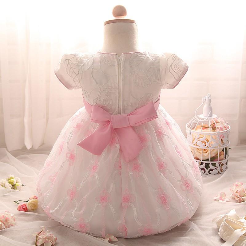 Newborn Birthday Dress (4)